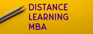 distance mba learning education